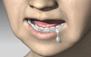 Почему выделяется много слюны во рту, в том числе и во время сна